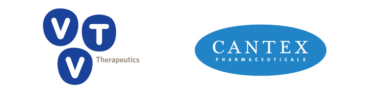 VTV and Cantex logos